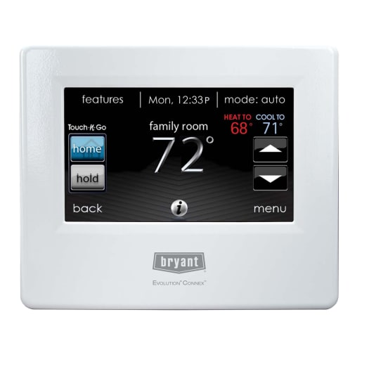 Infinity Touch Control Programmable Thermostat Systxccitn01 A Carrier Home Comfort