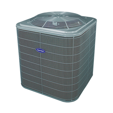 Central Air Conditioner Ratings And Reviews >> Comfort 14 Central Air Conditioning Unit - 24ACC4   Carrier - Home Comfort