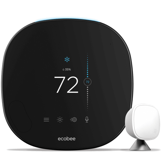 Ecobee Smartthermostat Pro With Voice Control  Powered By