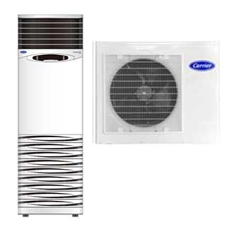 Comfort Pro Free Standing Ductless Split System Carrier Building Solutions Middle East