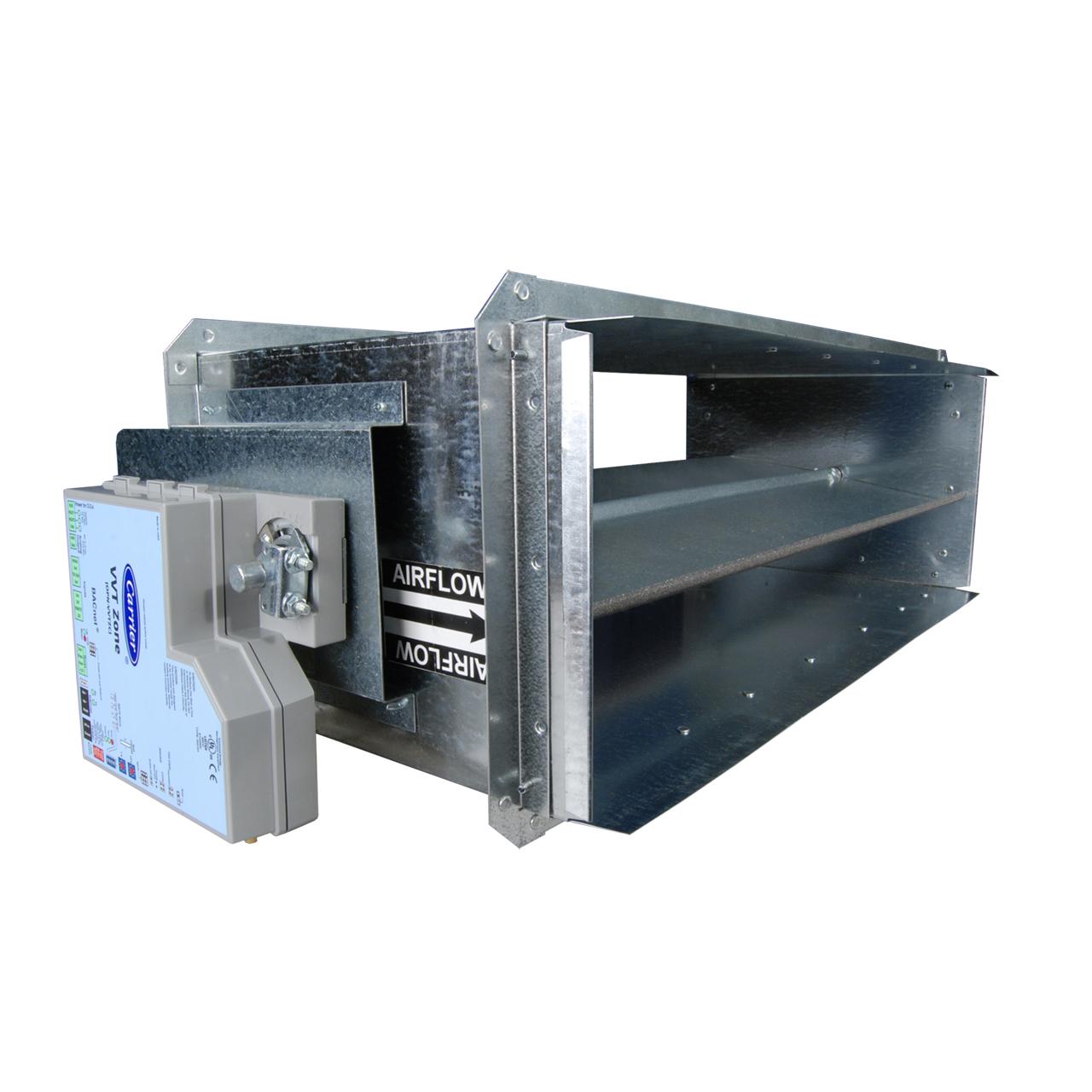 carrier-OPND-rectangular-damper-with-vvt-zone-controller