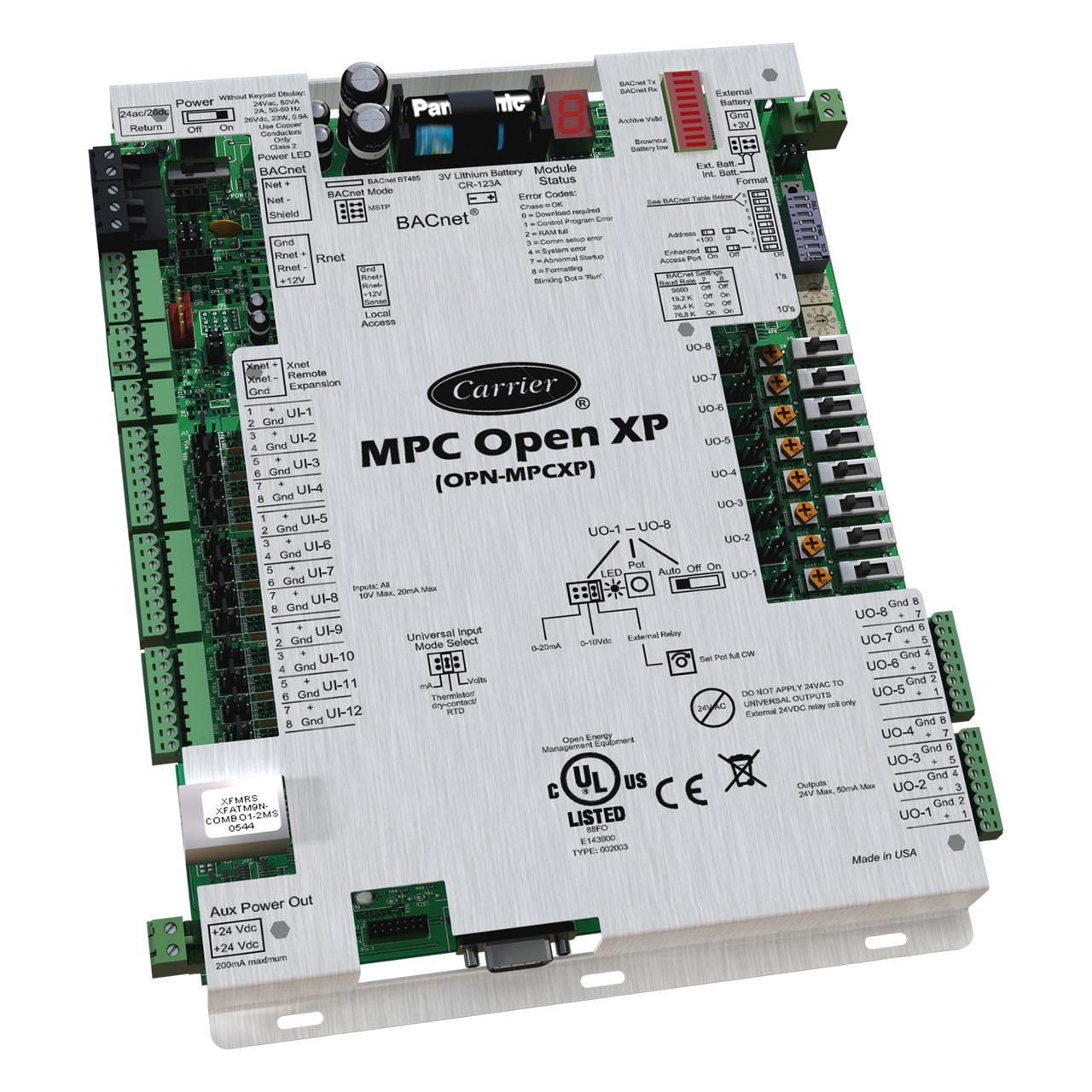 carrier-OPN-MPCXP-ivu-open-multipurpose-programmable-controller