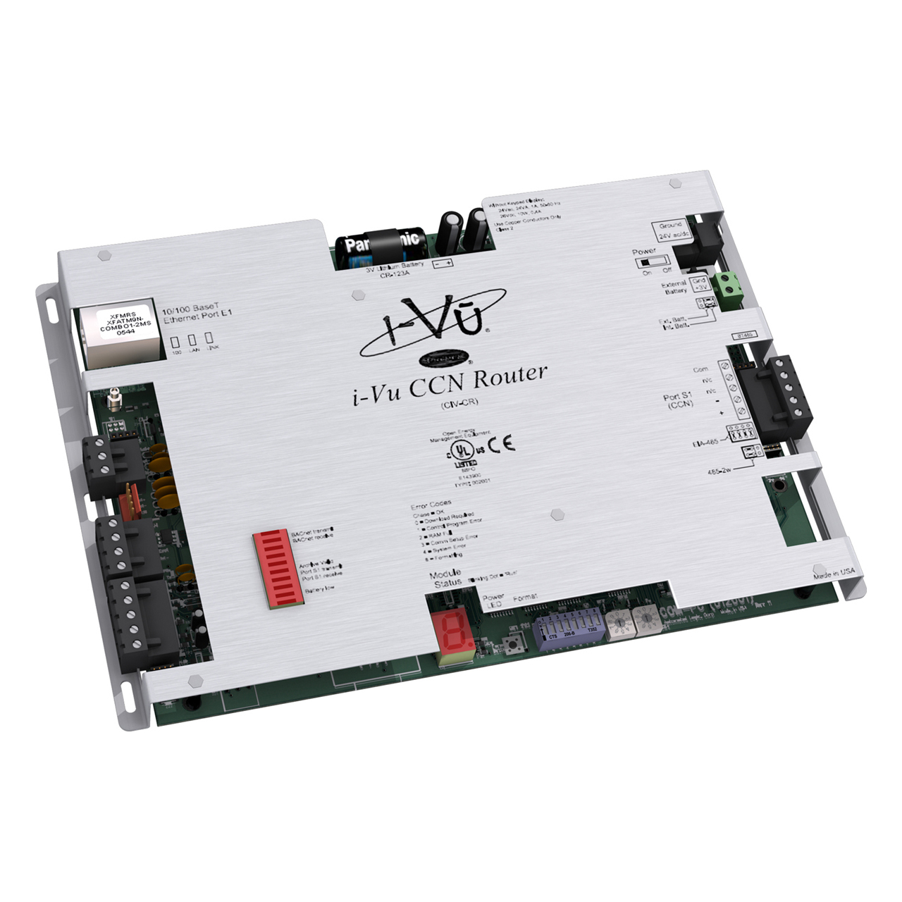 carrier-CIV-CR-network-and-integration-controller