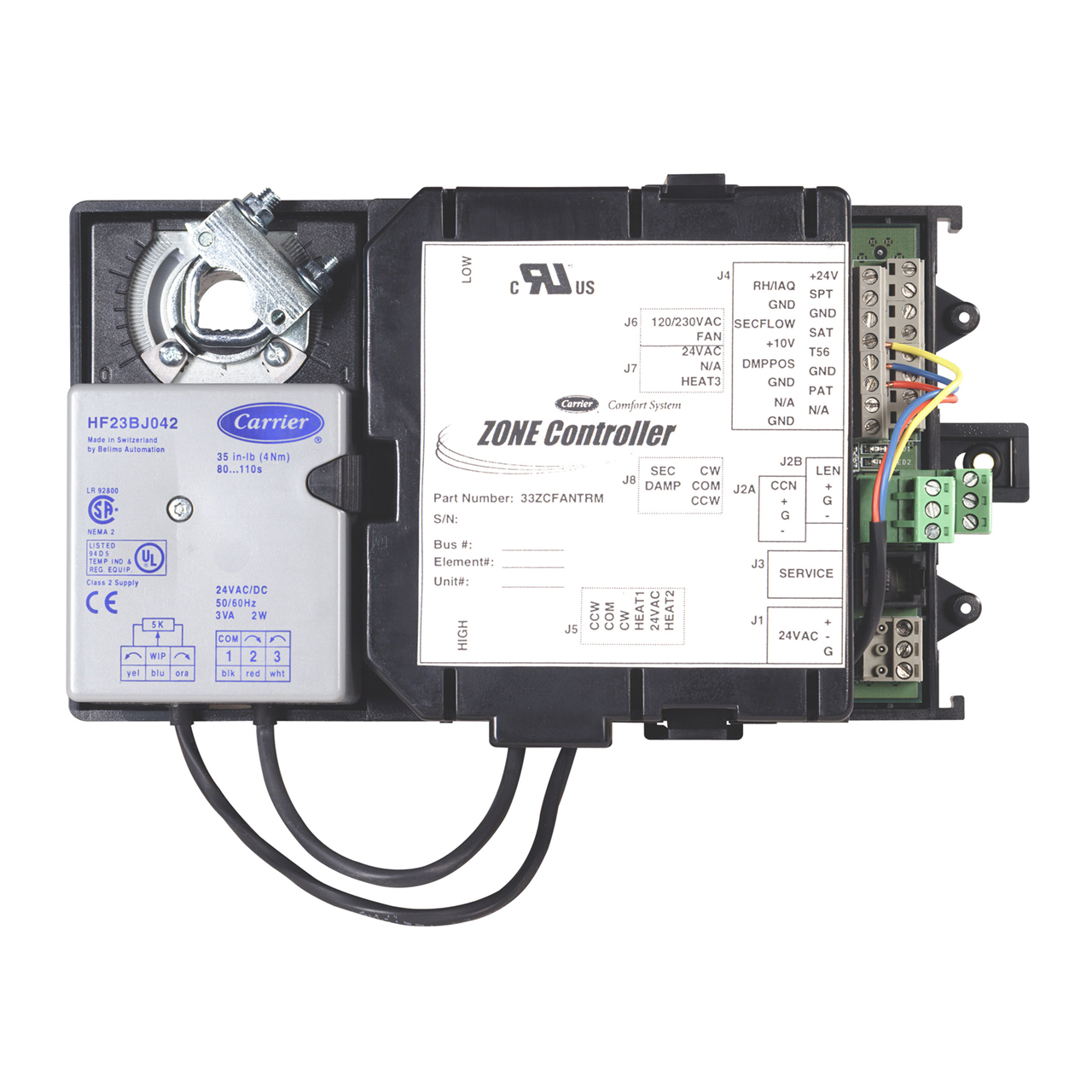 carrier-33ZCFANTRM-vav-fan-terminal-product-integrated-zone-controller