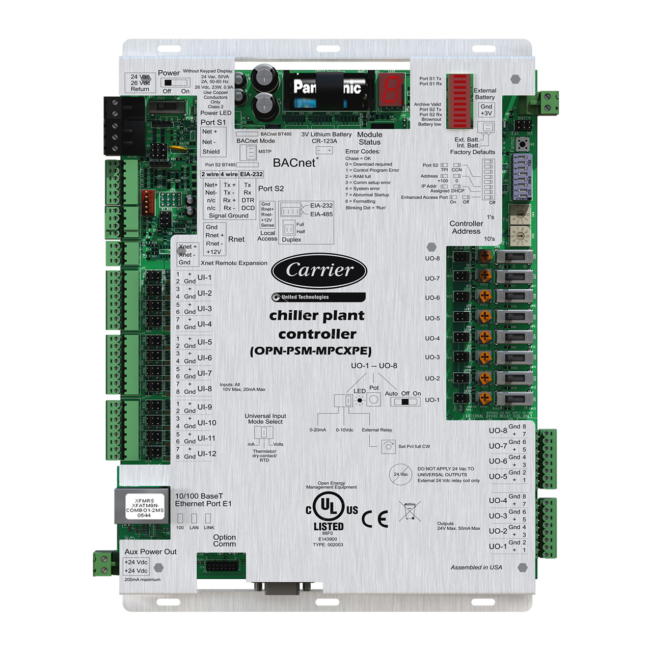 carrier-OPN-PSP-MPCXPE-chillervu-psm-io-module