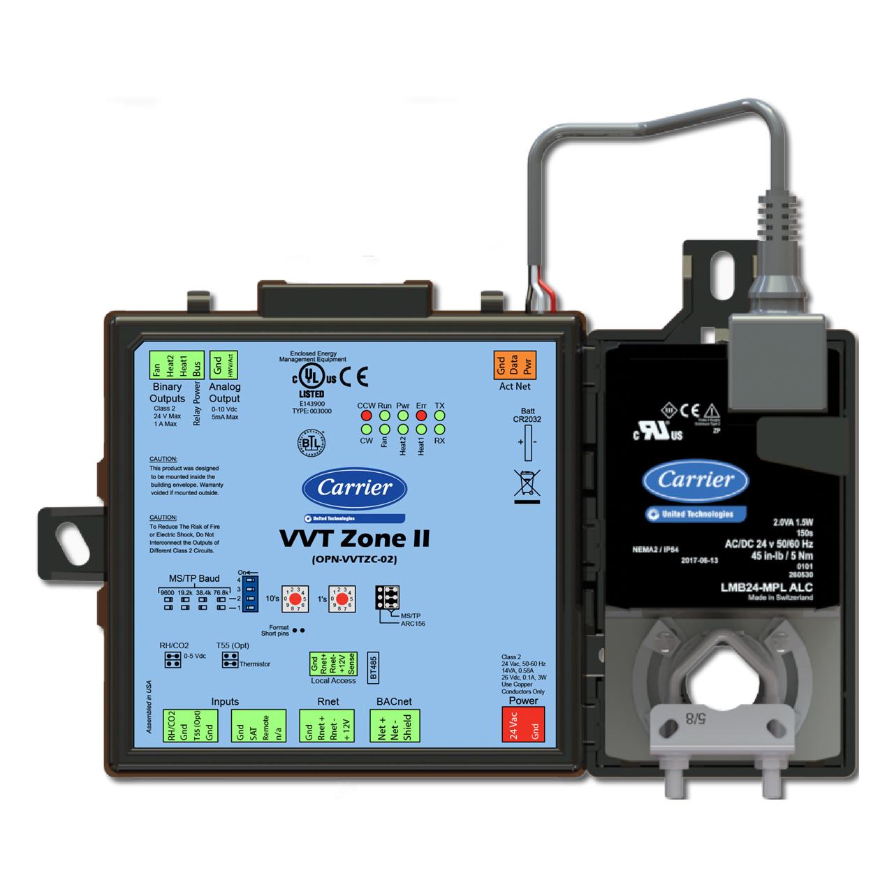 carrier-OPN-VVTZC-02-ivu-vvt-zone-ii-controller