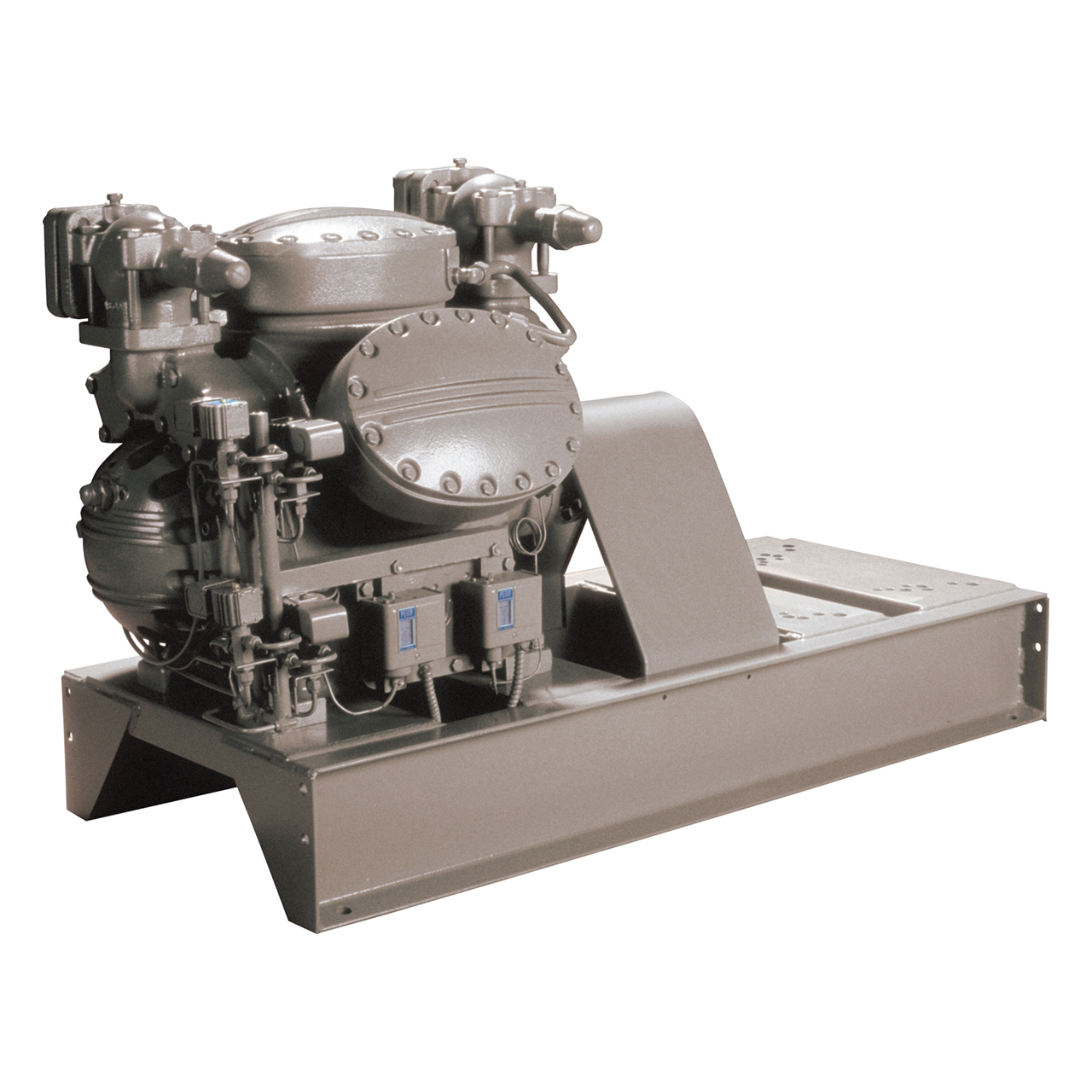 carrier-5F-open-drive-reciprocating-base-mounted-compressor
