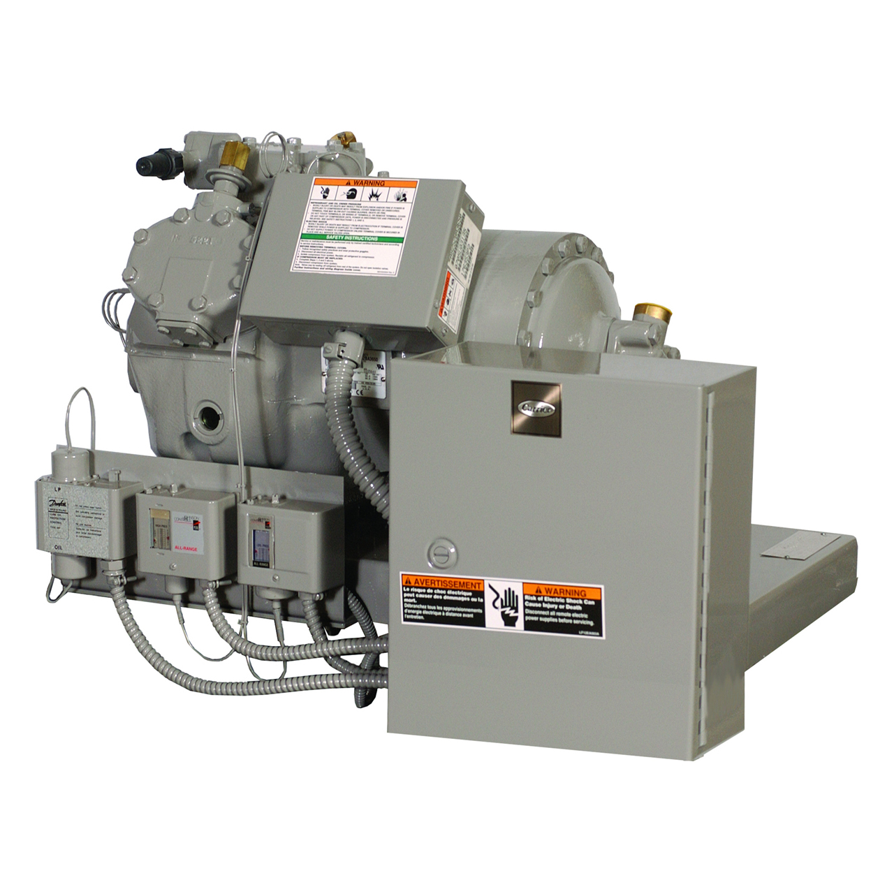 carrier-06D-semi-hermetic-reciprocating-compressor