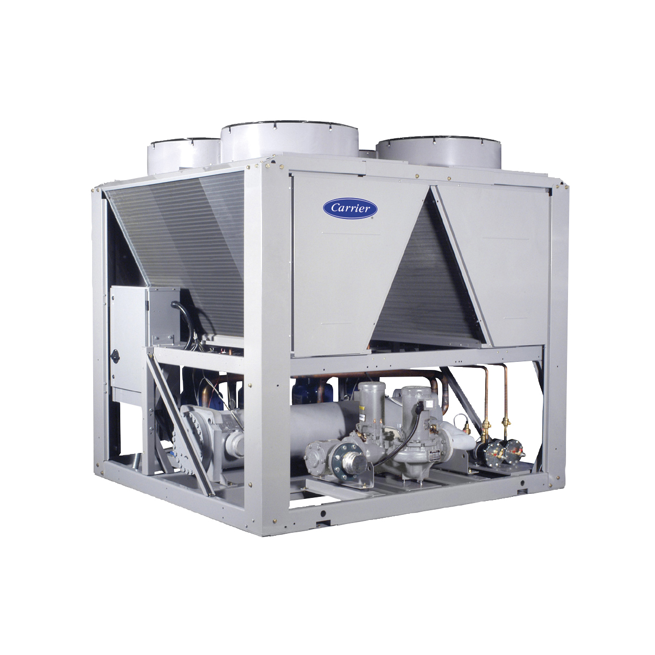 The AquaSnap® 30RB chiller is an effective all-in-one package that is easy to install and easy to own. The chiller costs less to purchase and install and then operates quietly and efficiently.
