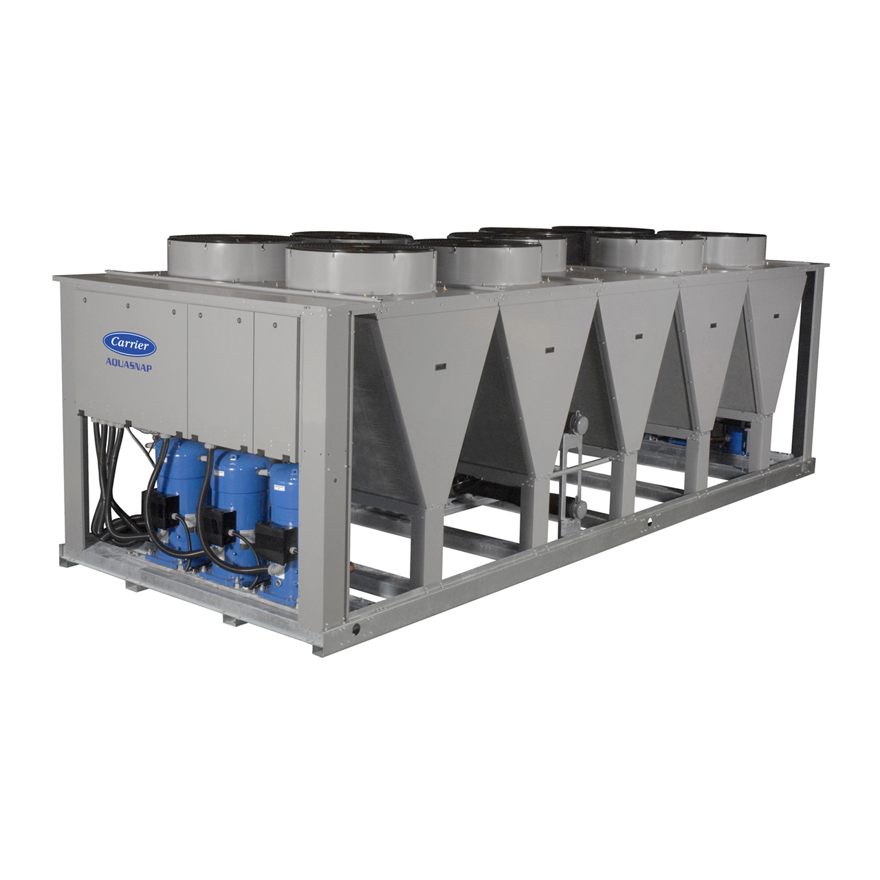 The AquaSnap® 30RAP chiller is an effective all-in-one package that is easy to install and own. The chiller costs less to purchase and install than other chillers in its class, and operates quietly and efficiently.