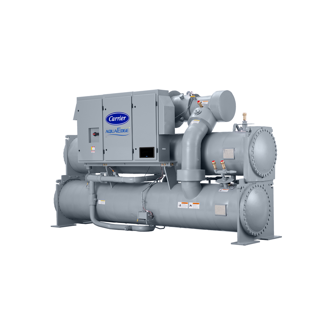 The 23XRV chiller is the world's first integrated variable-speed, water cooled, screw chiller.