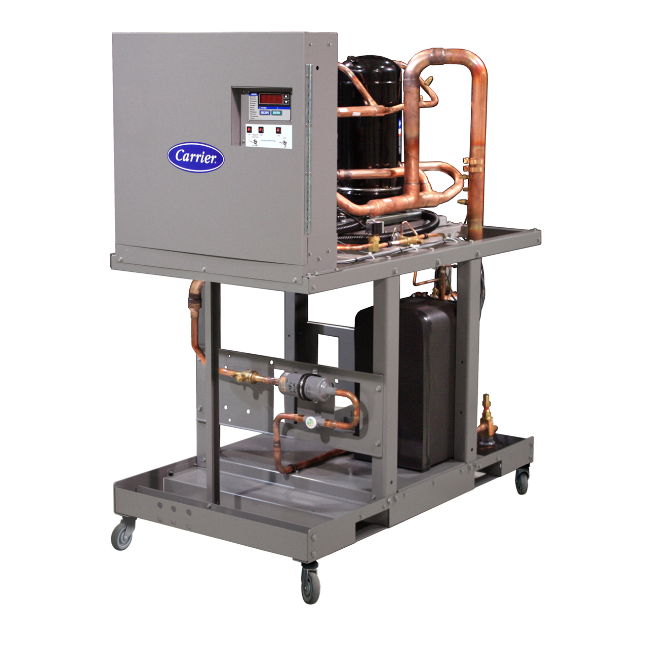 AquaSnap® 30MP packaged liquid and condenserless chillers feature a compact modular design that makes them ideal for easy replacement, retrofit, or new construction applications.