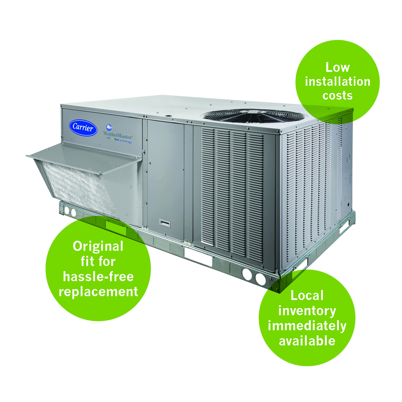 Exclusive, new EcoBlue™ Technology was designed to improve performance and efficiency while decreasing maintenance and installation costs.