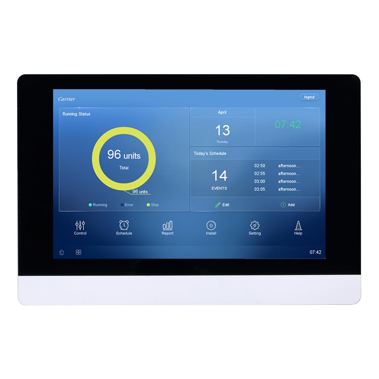 carrier-40vm906-vrf-touchscreen-central-controller