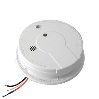 Kidde I12040 Ac Hardwired Interconnect Smoke Alarm With Hush