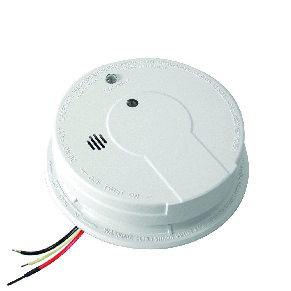 P12040 Photoelectric Smoke Detector Kidde Home Safety
