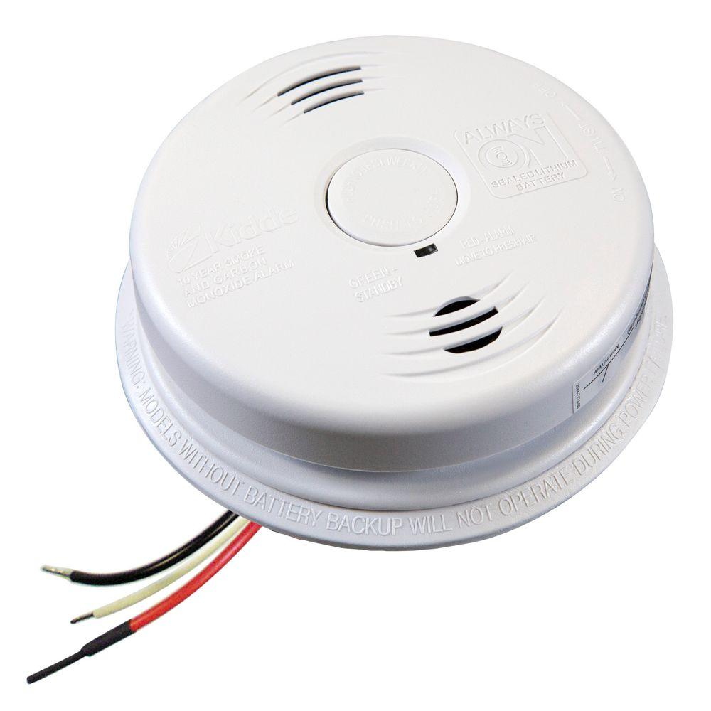 Kidde I12010sco Combination Smoke Co Alarm Lithium Battery Backup