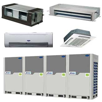 carrier-xpower-variable-refrigerant-drive-system