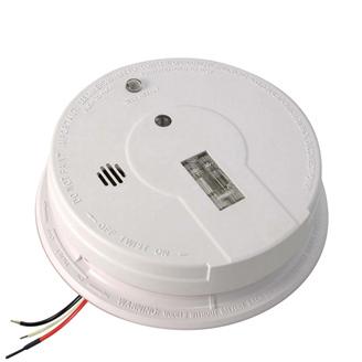 Kidde I12080 Ac Hardwired Interconnect Smoke Alarm With Safety Light