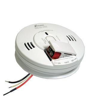 Kidde Worry-Free 120V AC Combination Smoke /& Carbon Monoxide Detector Alarm