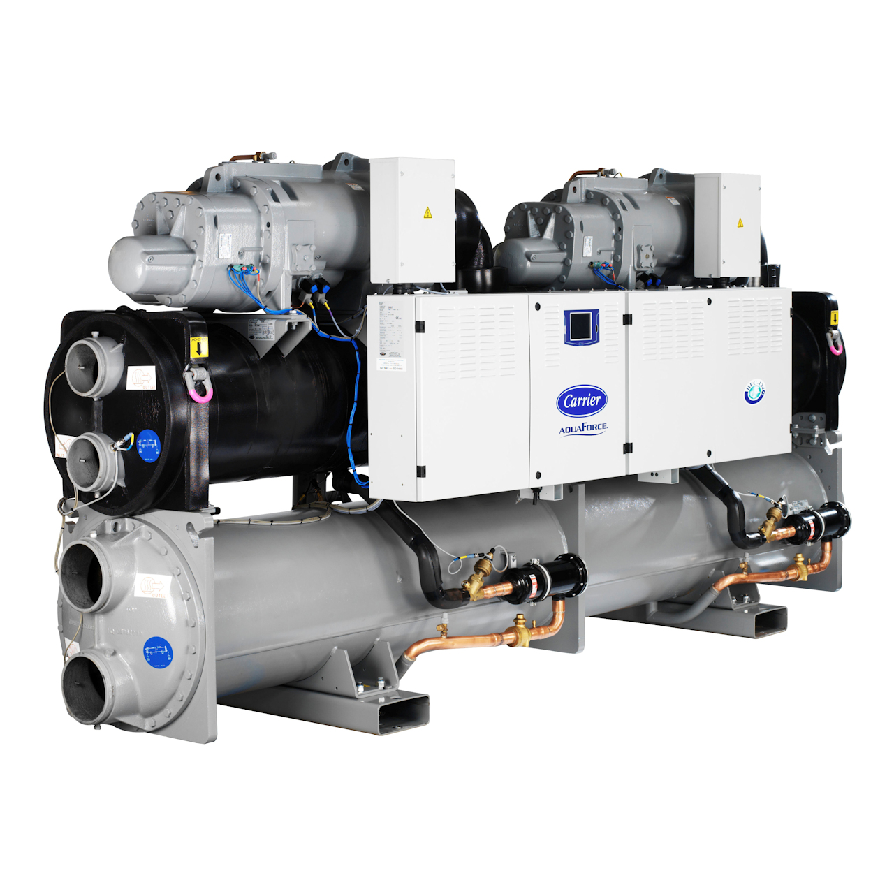 carrier-30XW-30XW-P-water-cooled-screw-chiller-2-circuits-with-insulation