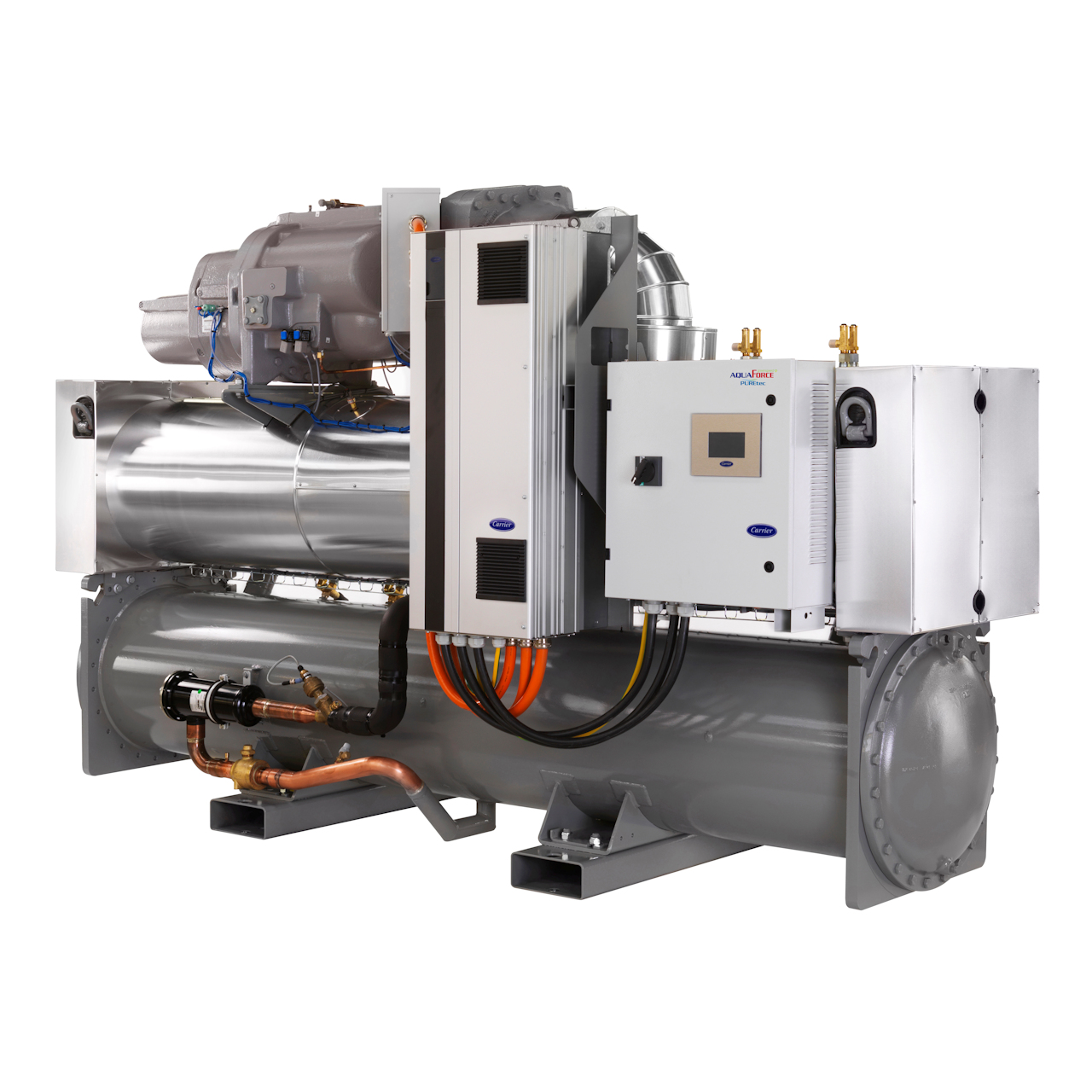 carrier-30XWHVZE-water-cooled-chiller-water-sourced-heat-pump-screw-variable-speed-hfo-refrigerant