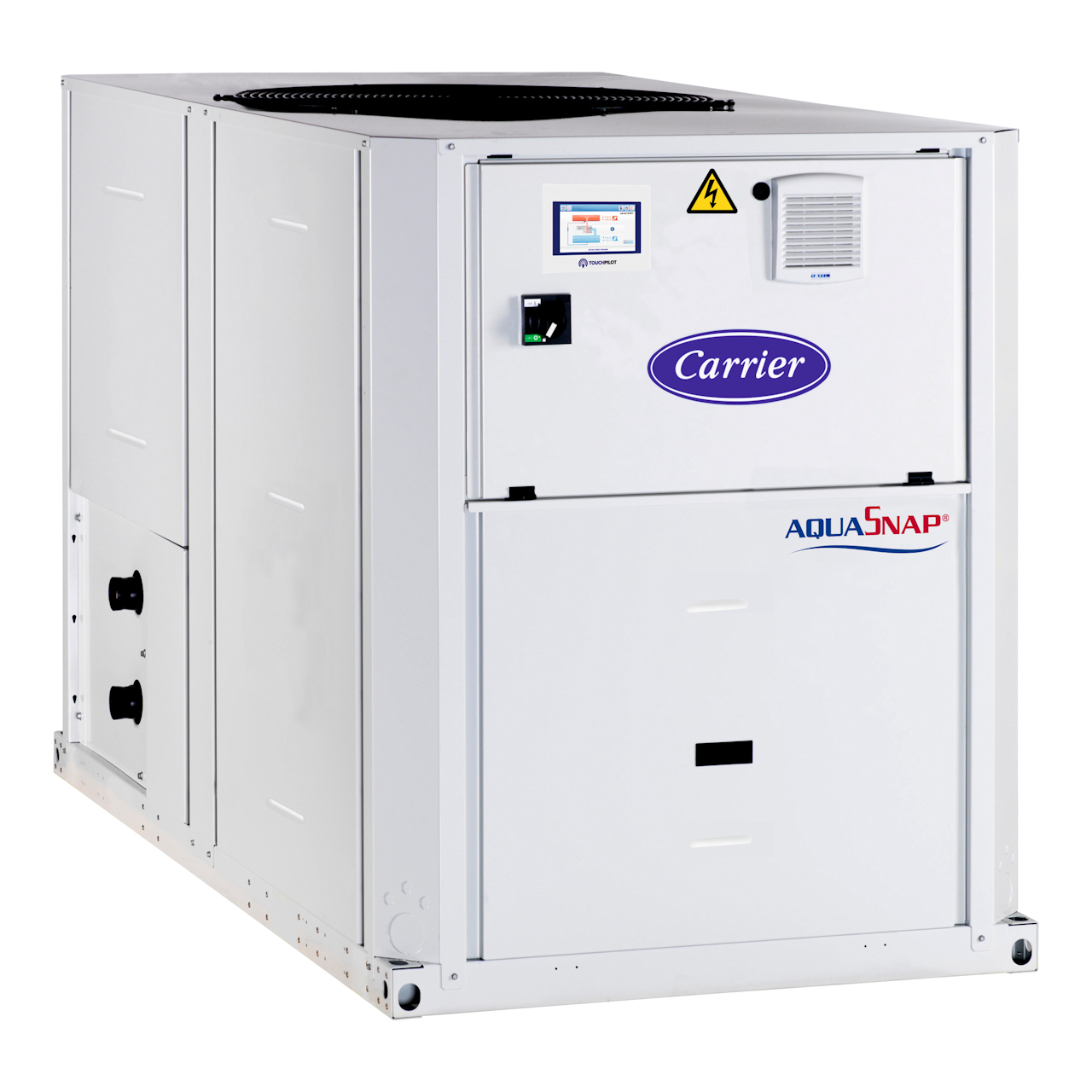 carrier-30RBSY-30RQSY-ductable-air-cooled-chiller-air-to-water-heat-pump-fan
