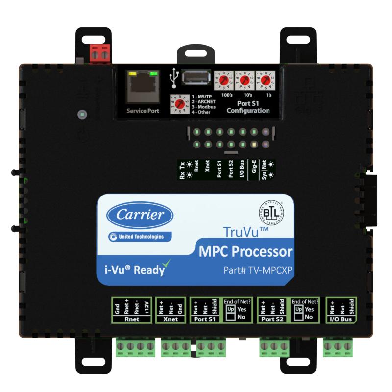 carrier-TV-MPCXP-truvu-mpc-processor