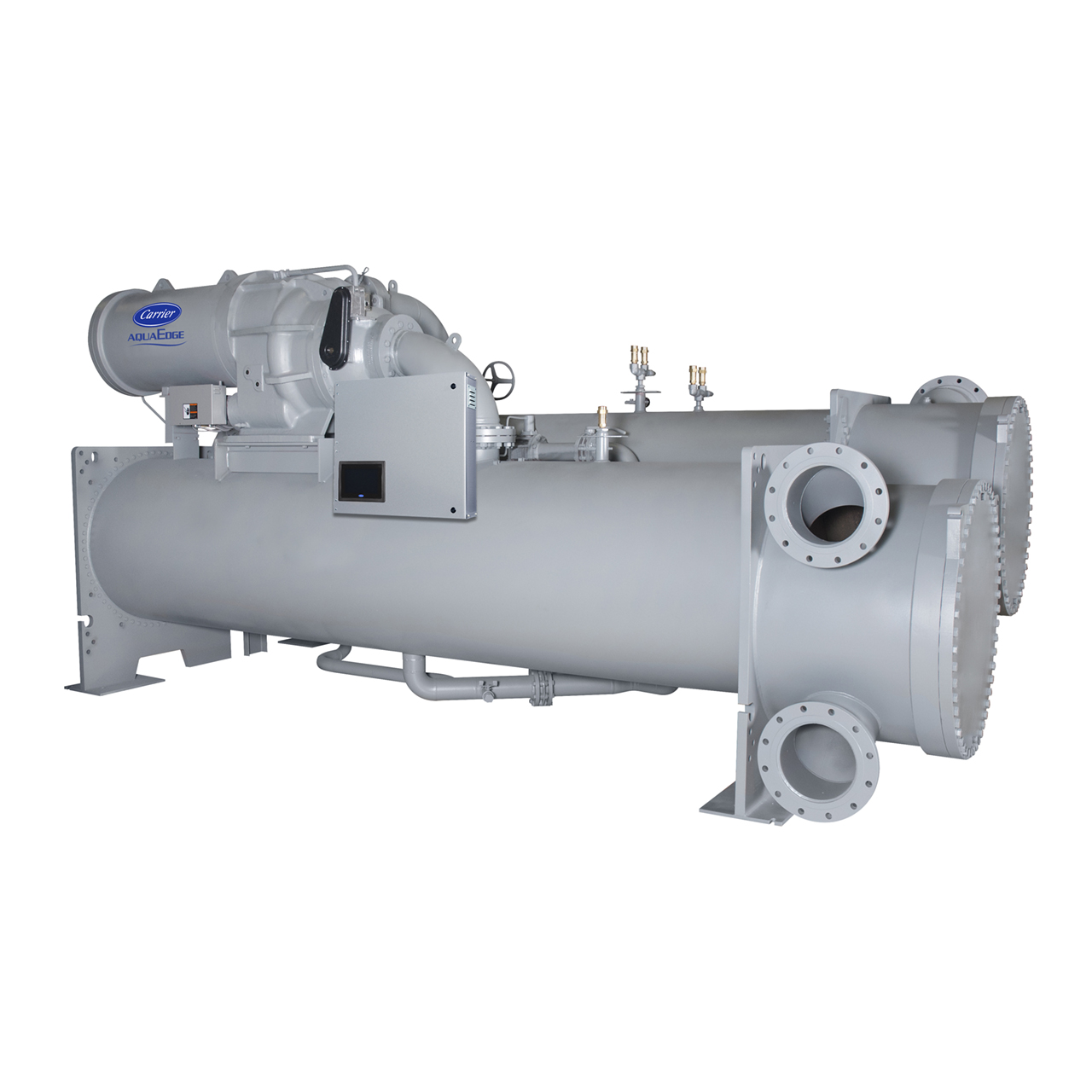 Carrier's AquaEdge® chillers offer the best value in high-efficiency, chlorine-free centrifugal HVAC chillers.