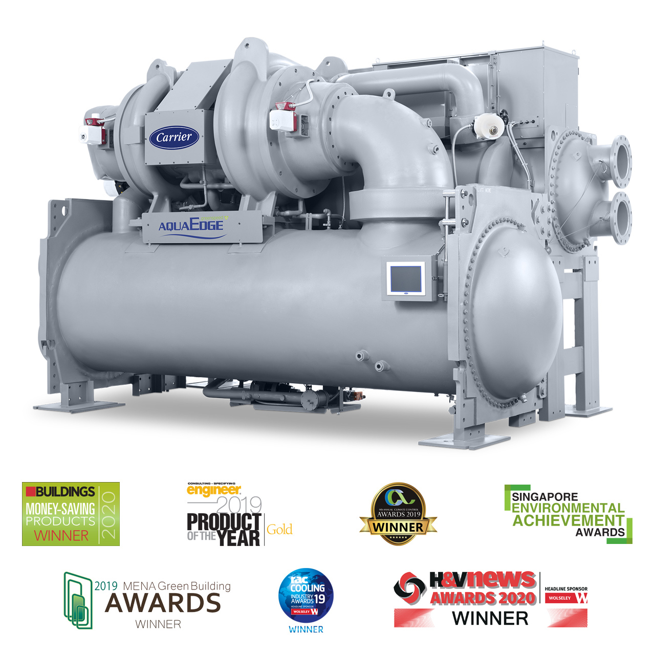 The AquaEdge® 19DV Water-Cooled Centrifugal Chiller is the Ultimate Innovation in Heating and Cooling Technology.