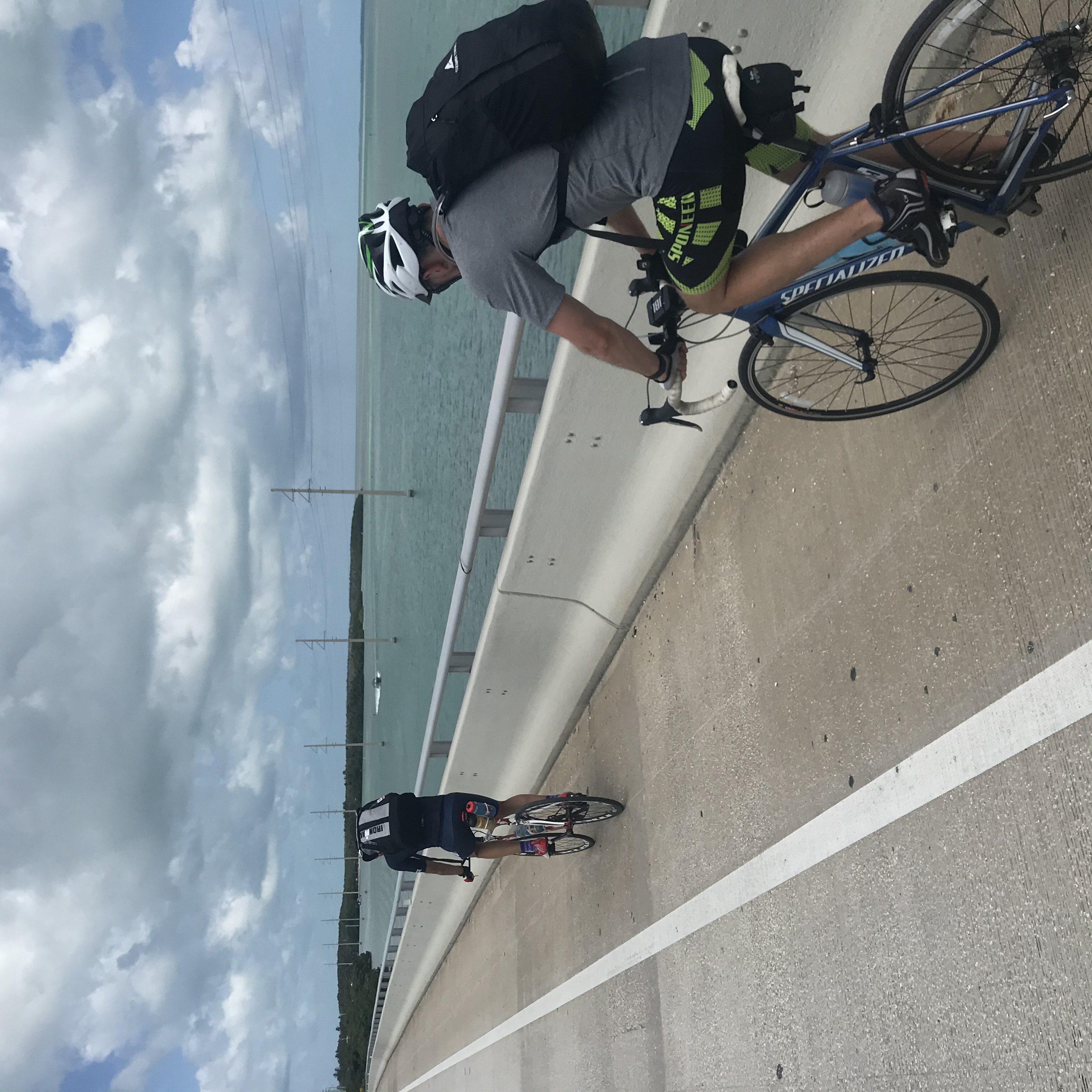 Carrier employees cycle for COVID relief