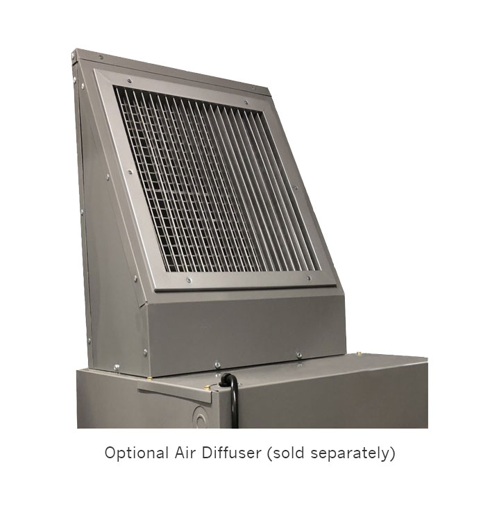 The Carrier OptiClean negative air machine is a portable, minimum 500 CFM solution designed for airborne infectious isolation (AII) rooms, helping Slow The Spread of COVID-19.