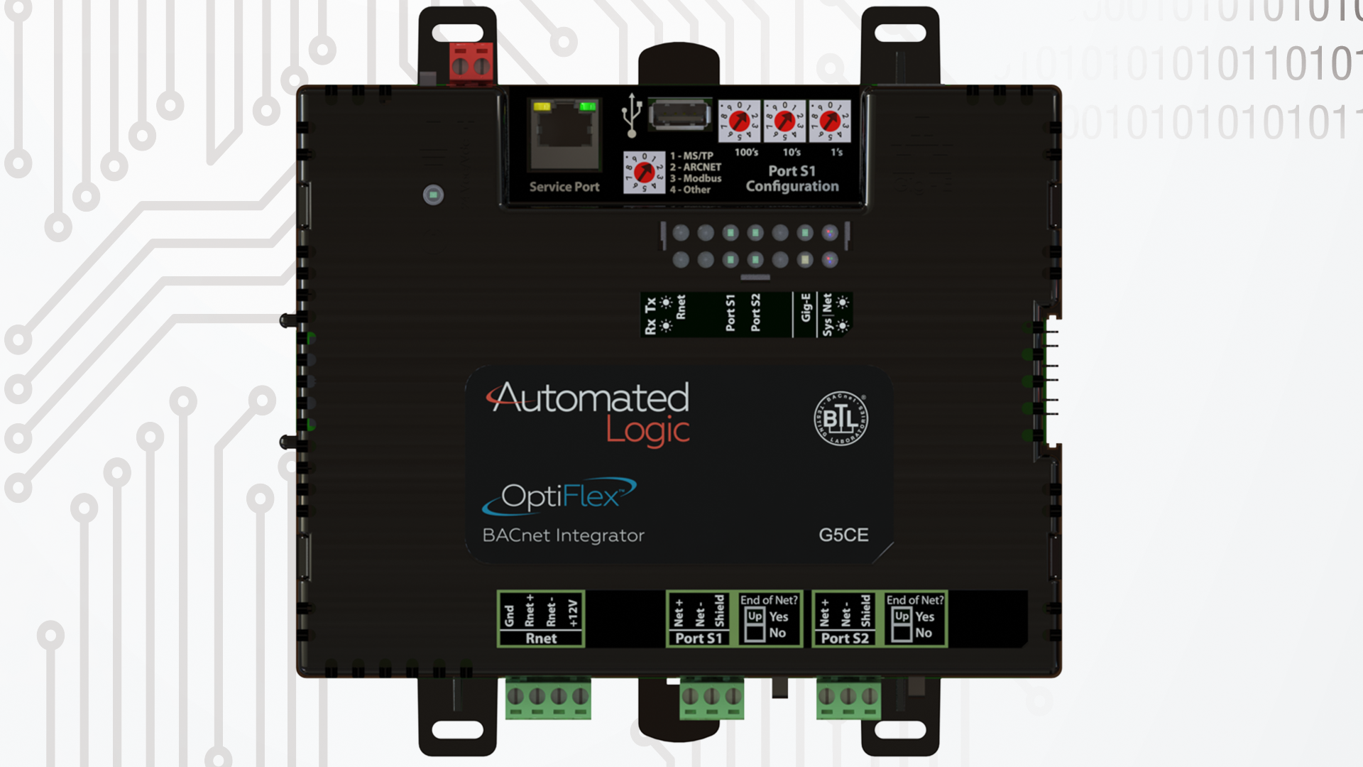OptiFlex-BACnet-Integrator-model-G5CE-top-view