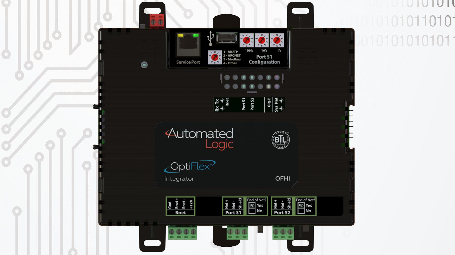OptiFlex-BACnet-Integrator-model-OFHI-top-view