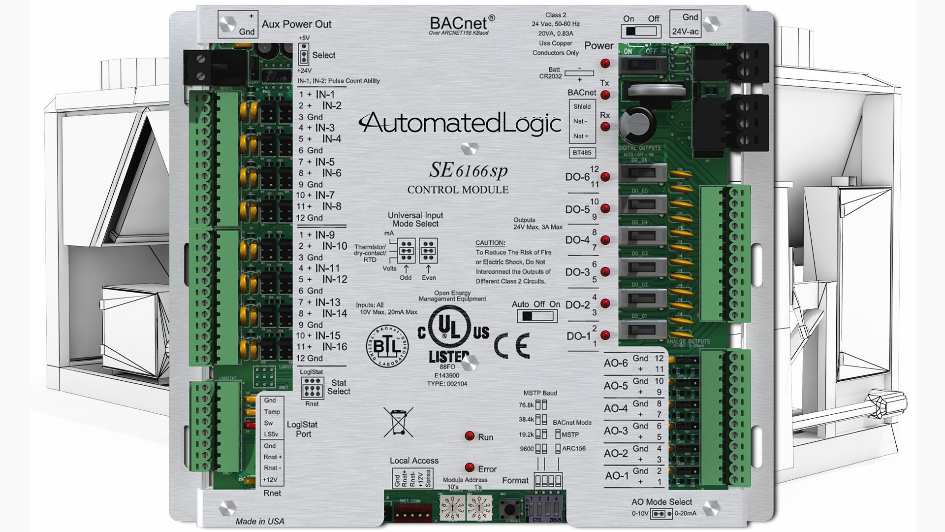 SE6166sp-equipment-controller