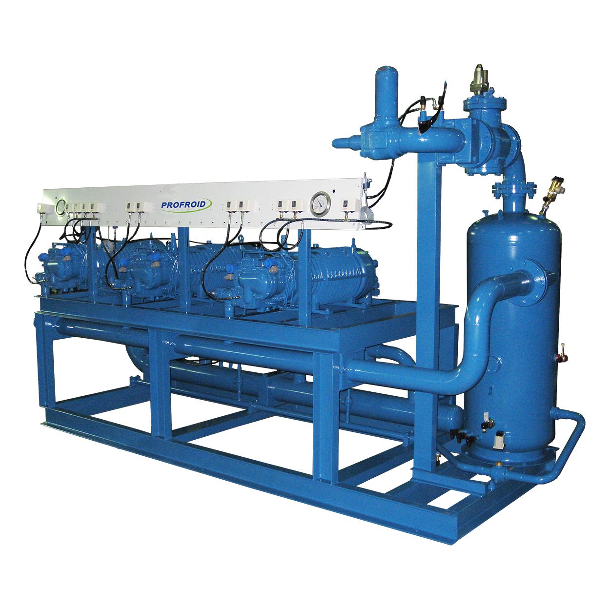 Profroid-SHV-Vis-compressor-rack