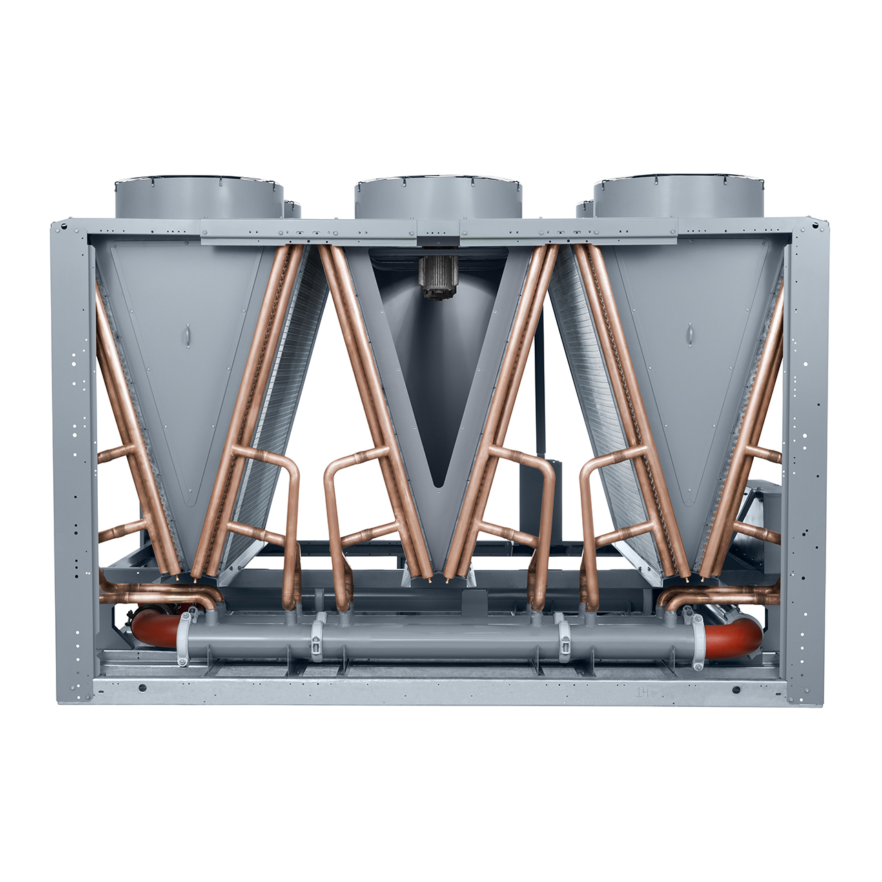 carrier-30XV-air-cooled-liquid-chiller-economizer