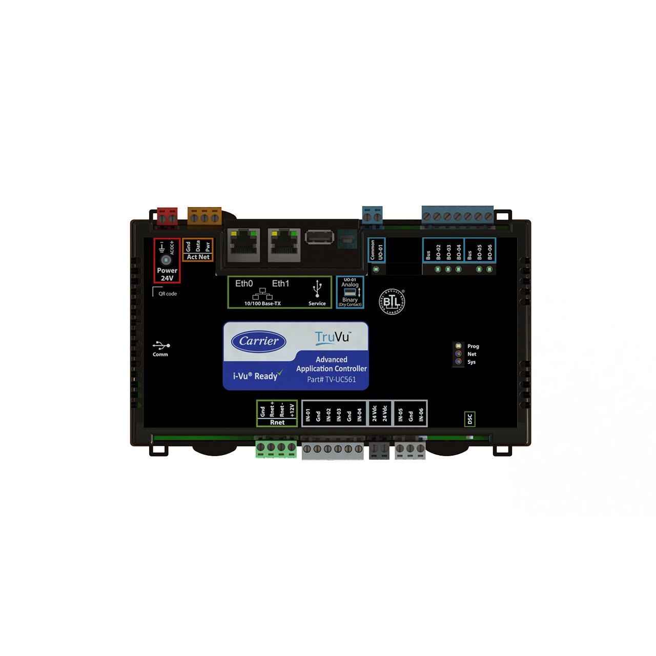carrier-TV-UC561-TOP-truvu-controller