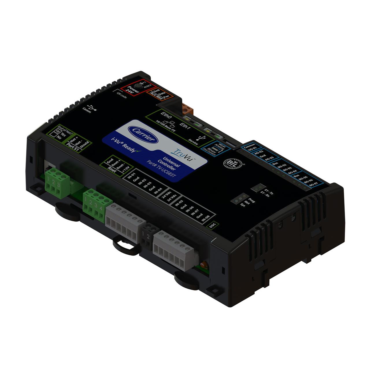 carrier-TV-UC683T-TOP-truvu-controller