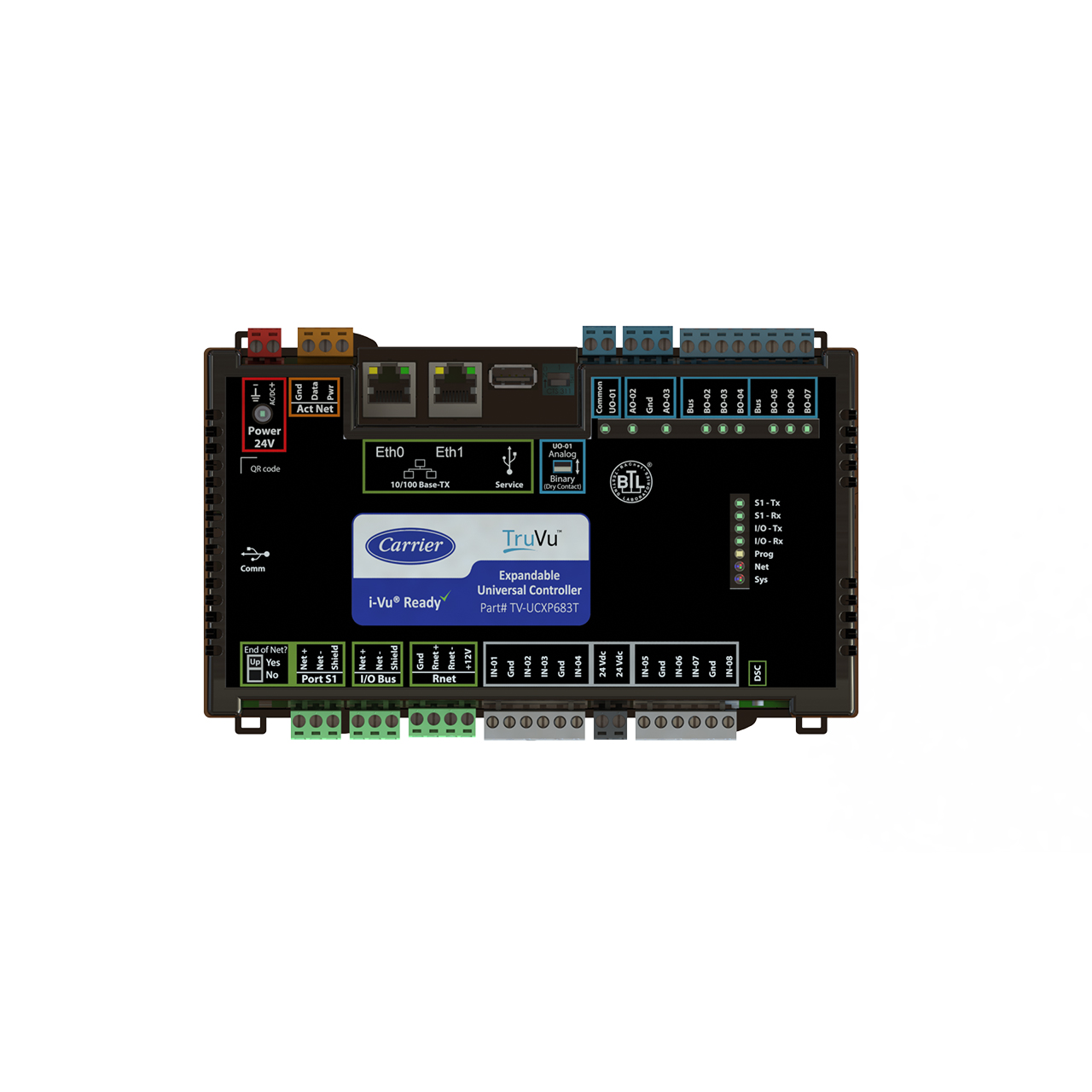carrier-TV-UCXP683T-TOP-truvu-controller