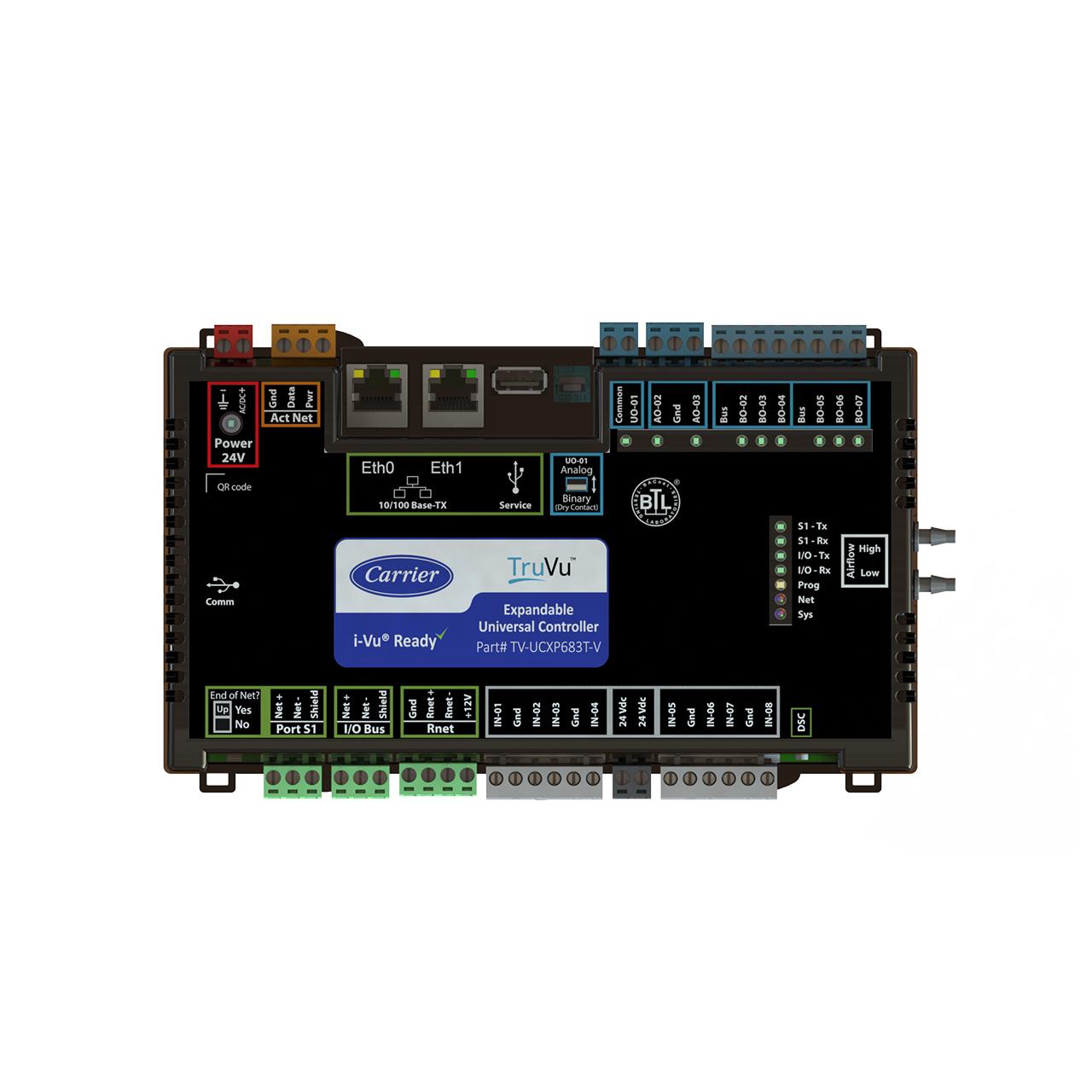 carrier-TV-UCXP683T-V-TOP-truvu-controller