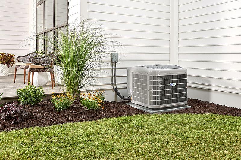 carrier-infinity-outdoor-unit-in-the-garden-3x2