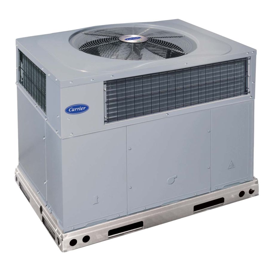 Comfort 14 Packaged Heat Pump System 50zhc Carrier Home Comfort