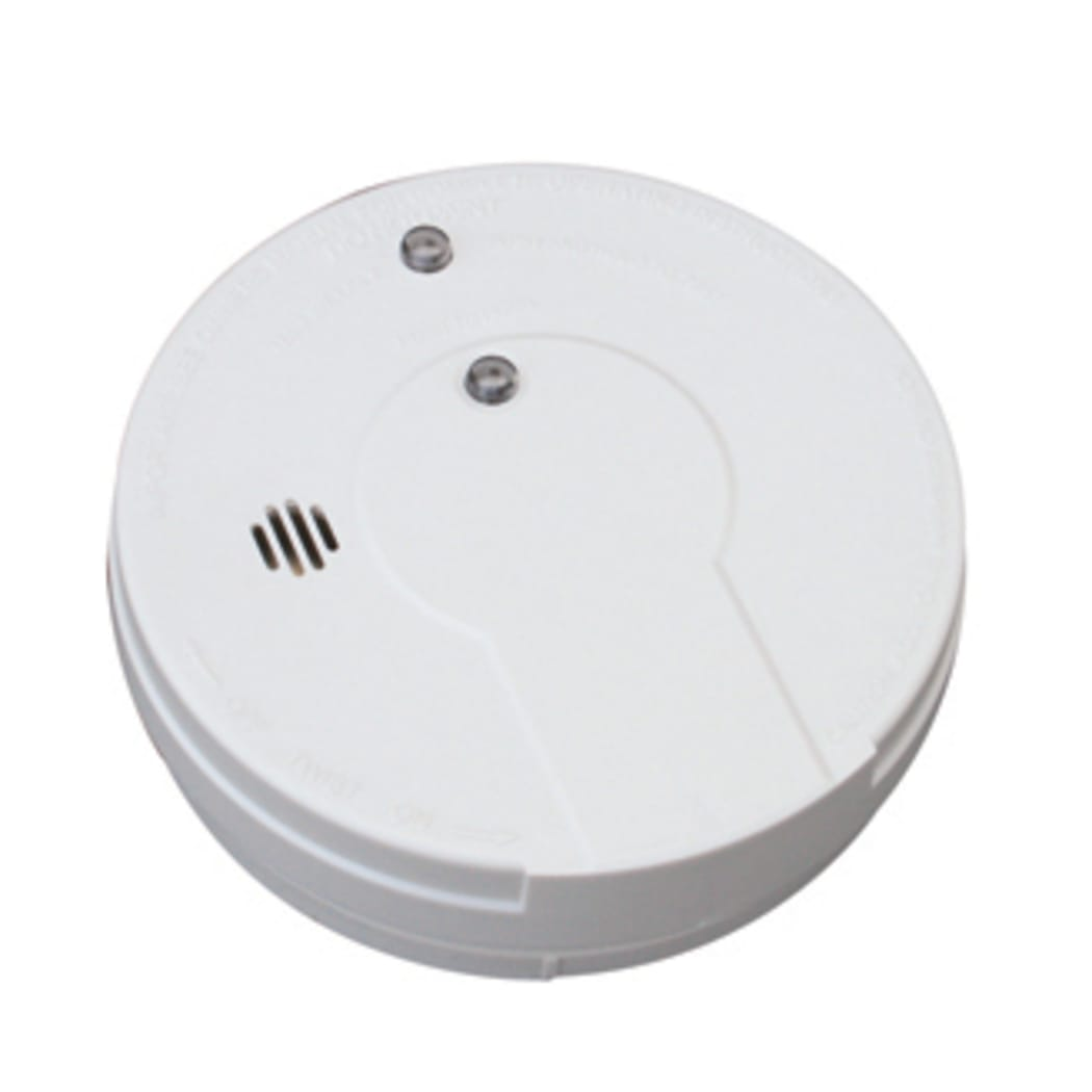 Kidde I9060 Battery Operated Smoke Alarm With Hush