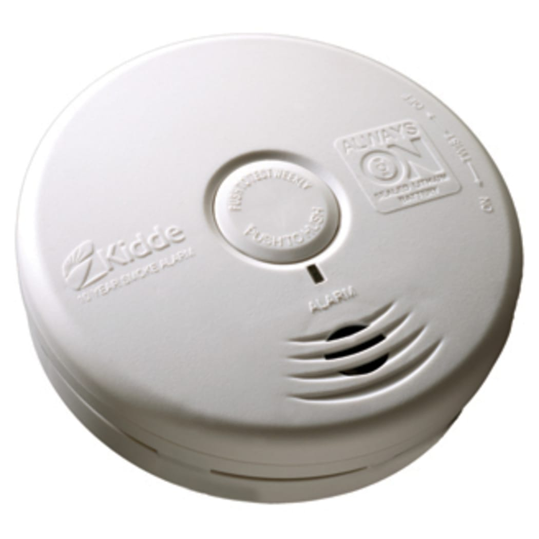 Kidde P3010l Worry Free Living Area Sealed Battery Power Smoke Alarm