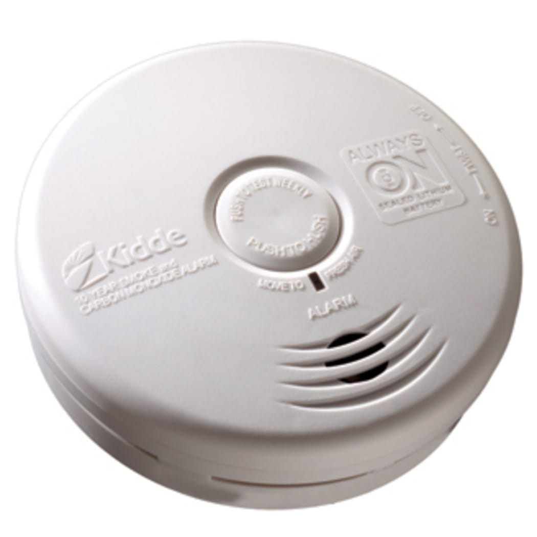 Kidde P3010k Co Worry Free Kitchen Sealed Battery Power Smoke Co Alarm