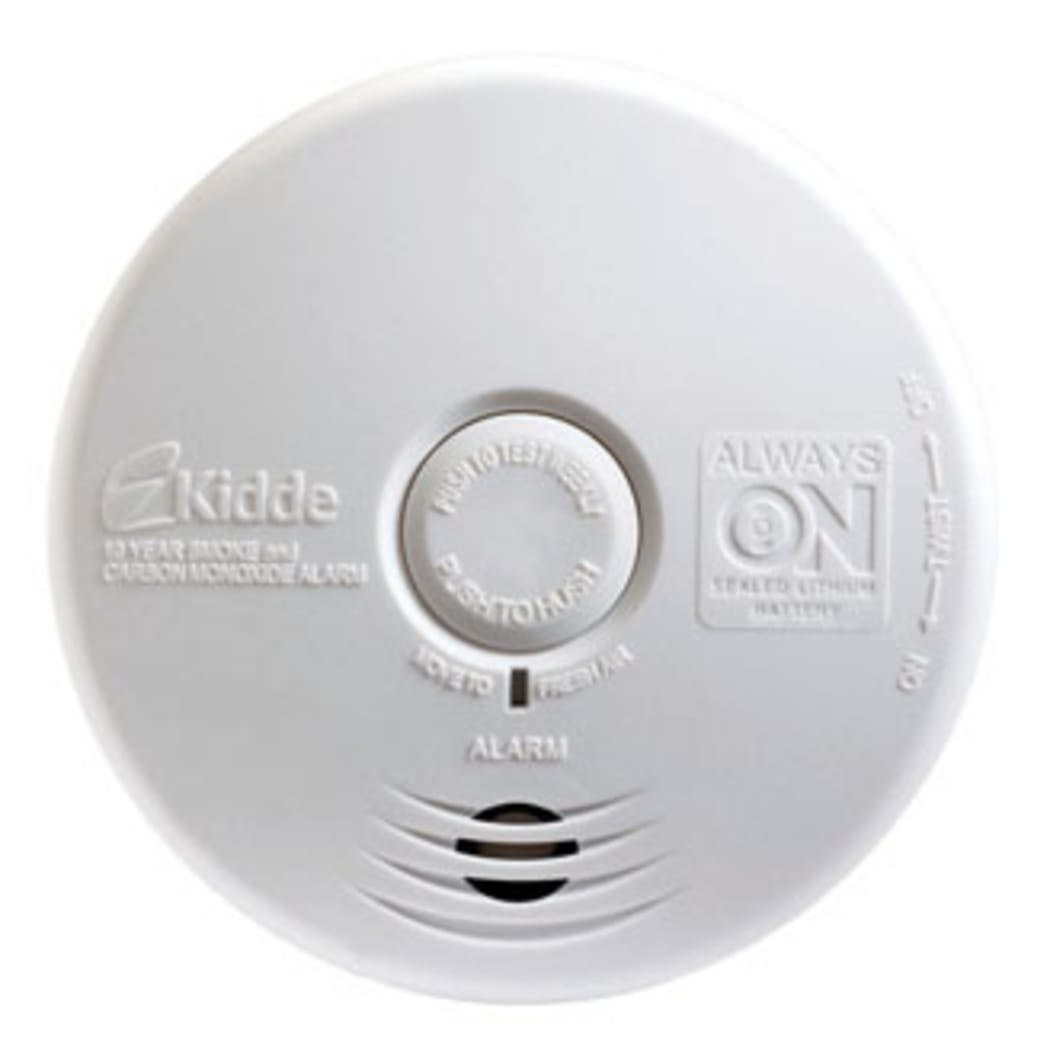 Kidde P3010k Co Worry Free Kitchen Sealed Battery Power Smoke Co Alarm