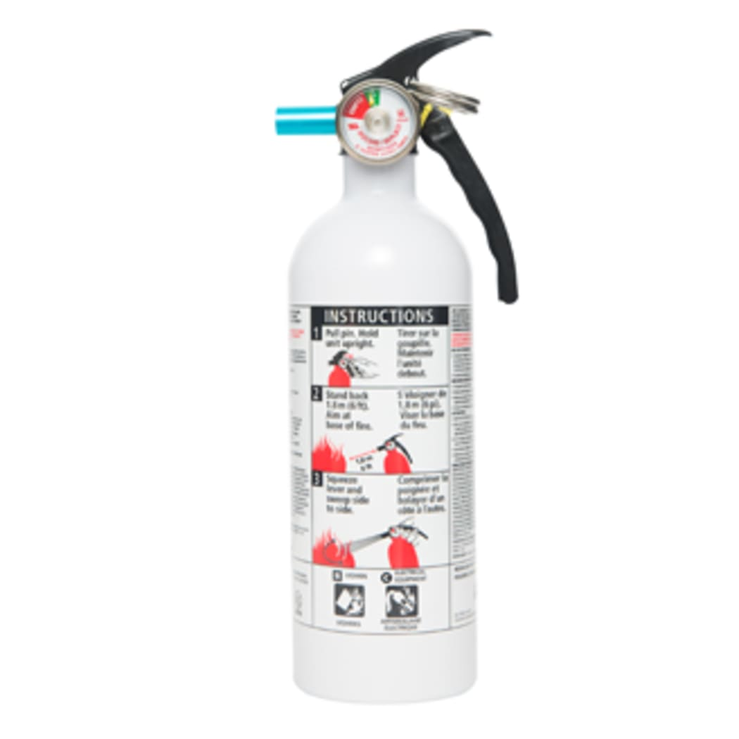 Kidde Canada 468031mtl 5 B C Kitchen Garage Home Series White Fire Extinguisher