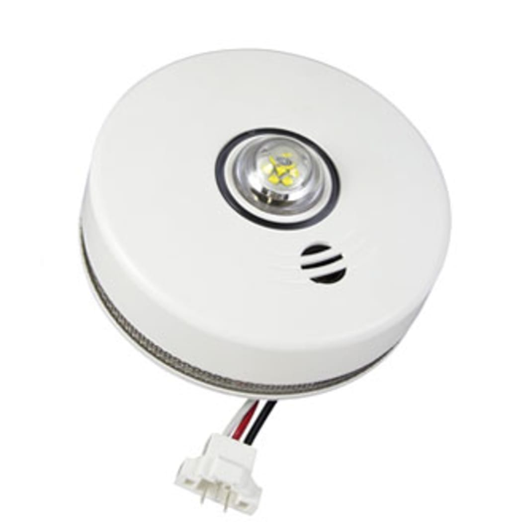 Kidde P4010acleds 2 Led Strobe And 10 Year Smoke Alarm
