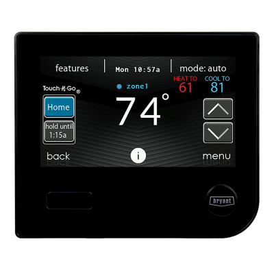 Programmable Thermostats | Wi-Fi® Thermostats | Bryant on bryant legacy thermostat, bryant zone perfect plus, furnace thermostat diagram, honeywell thermostat diagram, dual capacitor diagram, 4 wire thermostat diagram, bryant thermostat replacing, 5 wire thermostat diagram, thermostat connection diagram, ruud parts diagram, alpine wire harness diagram, bryant thermostat troubleshooting, bryant evolution thermostat, electric heat sequencer diagram, bryant thermostat replacement, bryant thermostat blank display, bryant ac parts, white rodgers fan relay diagram, hvac thermostat diagram, bryant programmable thermostat,